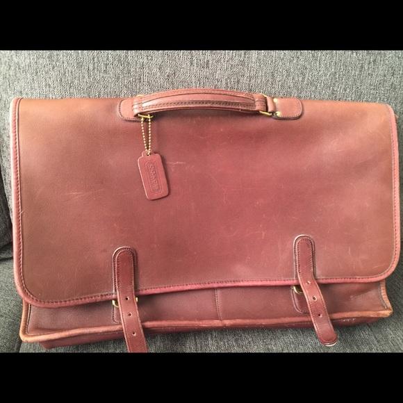 2122eb418a Vintage COACH work bag